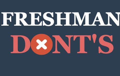 What not to do freshman year