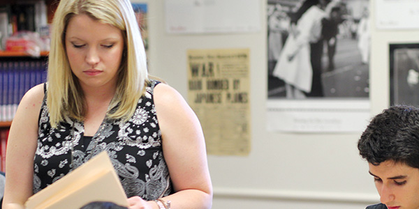 In her first year on campus, U.S. History teach Alyssa  Webb has been a part of Frisco ISD for nearly 10 years.