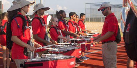 Drumline places third in Plano contest