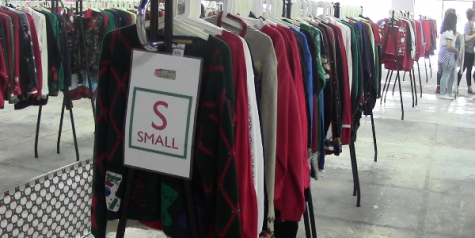 Ugly sweater pop-up shop