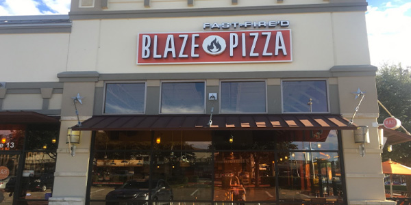 Guest contributor Melody Tavallaee reviews Blaze Pizza, which brings a taste of urban to suburban Frisco.