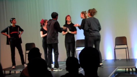 Improve troupe hits the stage