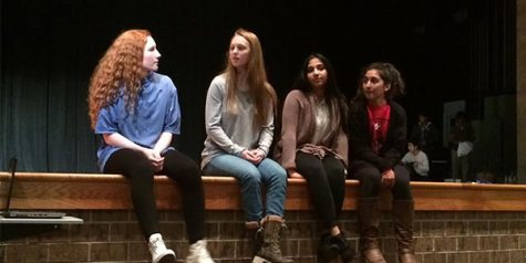 Humanities students perform world views