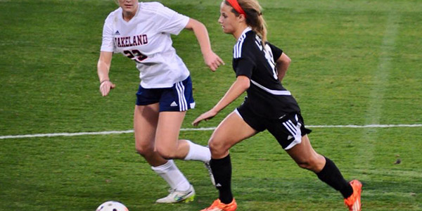 Playing soccer for 14 years, junior Cat Lychywek hopes to continue her soccer career in Europe some day.