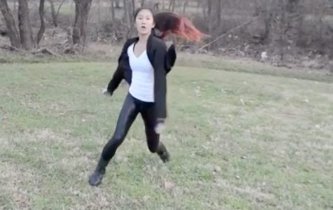 Dancing her way to fame