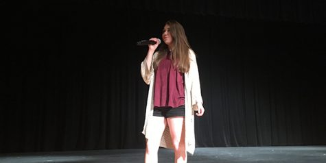Students takes the stage Friday for Talent Show