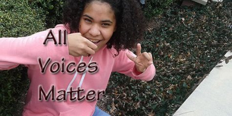 All Voices Matter: speak your mind