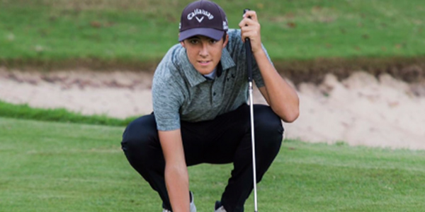 Junior Tyler Garrigus will be joining the rest of the boys' golf team at the regional tournament.