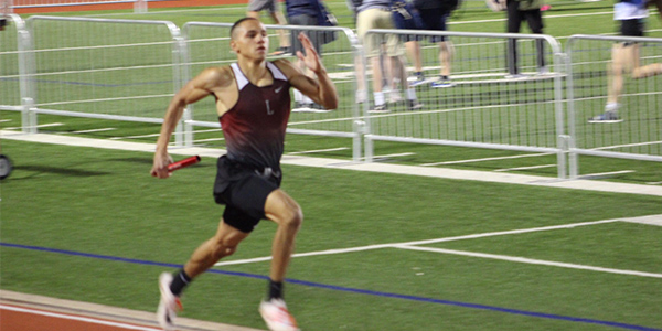 Senior Isaiah Palmer will be competing in the state track meet this weekend.