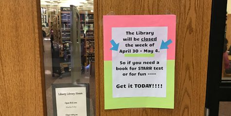 Library closed Tuesday-Friday