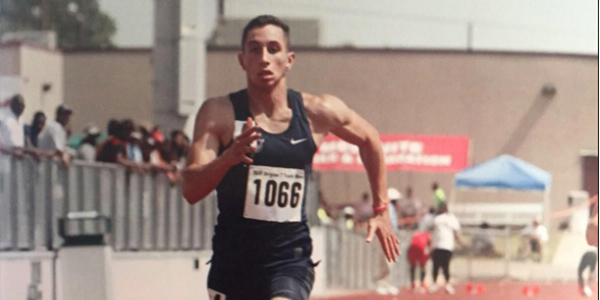Junior Sebastian Moreno runs varsity track for the school as well as outside of school.