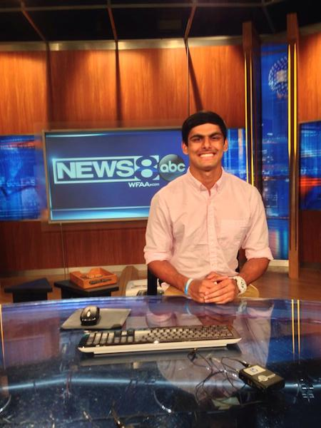 Senior Udgam Goyal's talents and achievements helped him earn a local media award