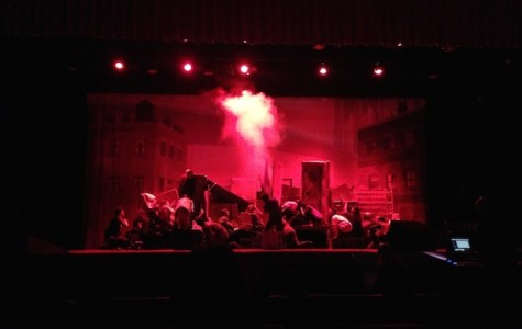 LHS theater students spent weeks of rehearsal preparing for the show.