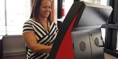 Ticket kiosk provides new options for students and staff
