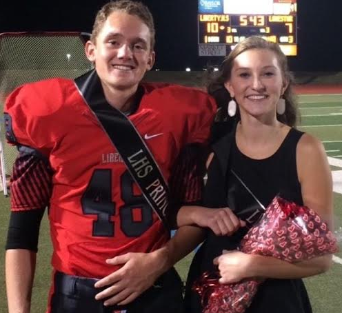 Students will be able to make their homecoming nominations starting Wednesday via form sent to their school email account. Seniors Rob Rever and Claire Morris were nominated for the 2014 Homecoming Court and won prince and princess.