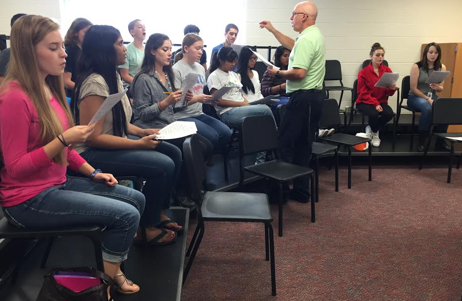 For nine years choir director Bruce Stevenson has been working with high school students. This week he is helping them prepare for All-State auditions on Thursday.