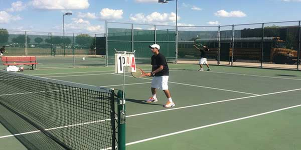 The tennis fell short to the Trail Blazers Tuesday afternoon. The team hopes that after they focus on a few things in practice, the score will be in their favor.