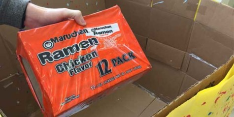 StuCo launches Ramen Noodle Food Drive