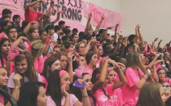 The Redhawk volleyball team has begun preparations for their annual Pink Out game fundraiser on Tuesday. The team is looking to pull out a win as they are counting on it to follow through in their game plan to make playoffs.