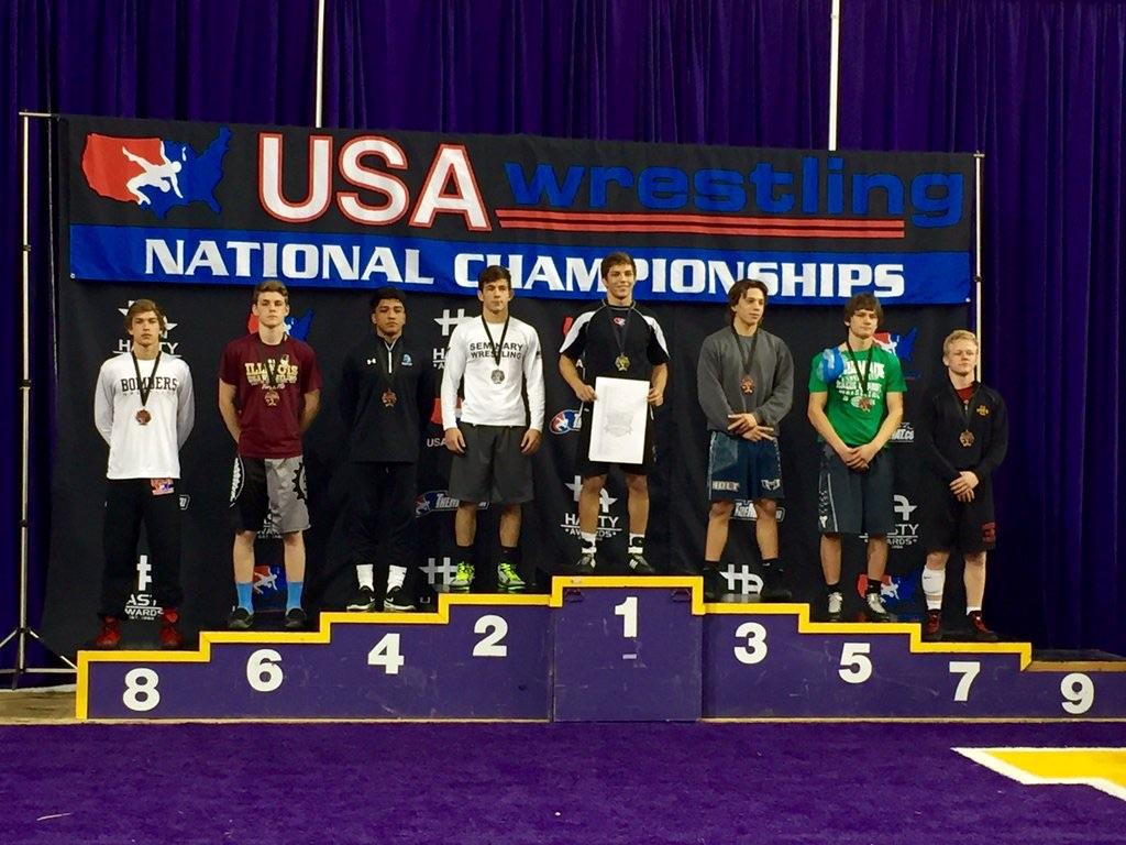 Wrestling has experienced success with individual wrestlers placing at national competitions. Junior wrestler Jordan Robison recently earned preseason All-America honors in Cedar Falls, Iowa.