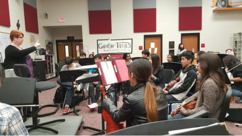 Orchestra sets school record for All-State