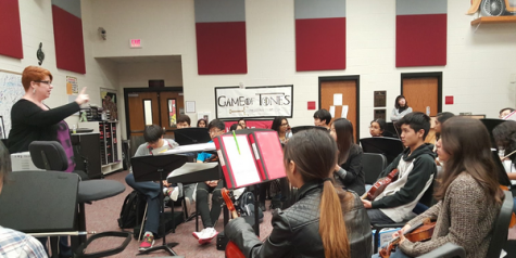 Band and orchestra members take their talents to Chicago