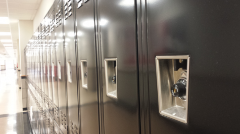 Time to remove the lockers