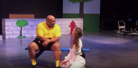 Charlie Brown takes the stage