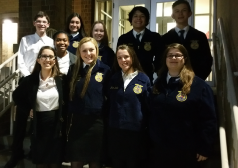 FFA leadership teams advance to area
