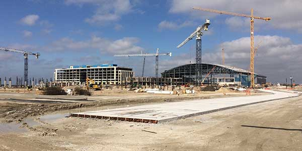 Set to open in the summer of 2016, The Star, the new headquarters of the Dallas Cowboys will also feature a 16-story Omni Hotel that will open in 2017.