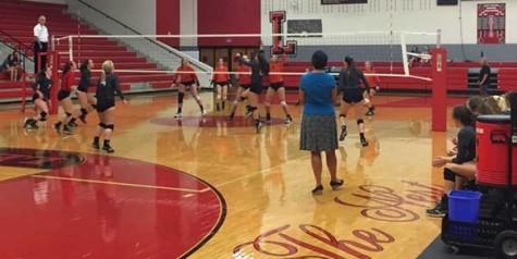 Volleyball playoffs begin