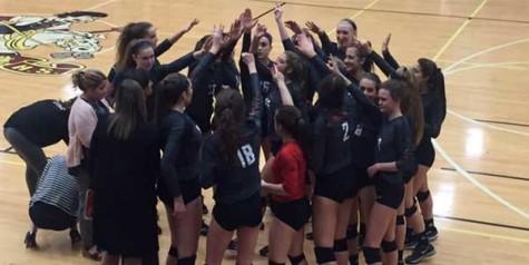 Volleyball battles, Prosper prevails