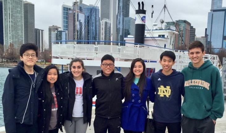Orchestra+students+arrived+in+Chicago+mid-morning+on+Tuesday+for+their+competition+on+Wednesday.
