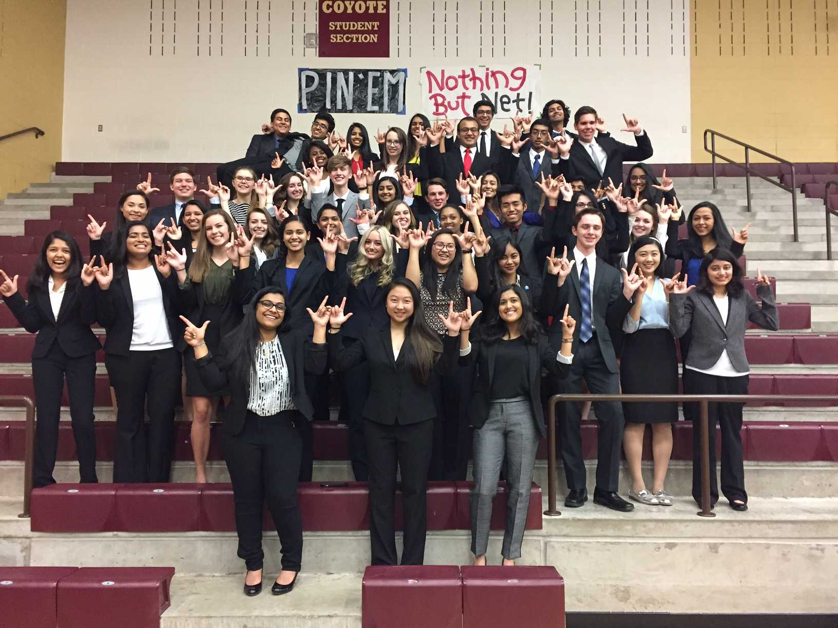 With some students unable to attend due to the Chicago trip, ISM students still hoped to bring their A-game.