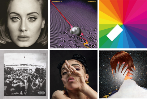 TOP 15 ALBUMS OF 2015