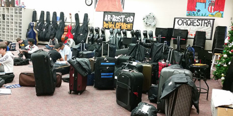 Orchestra ready for its road trip