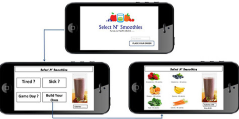 App would allow for customized smoothies