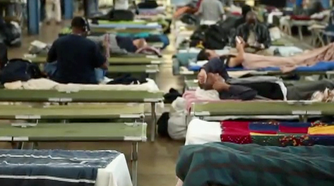 Emergency shelter helps Dallas homeless