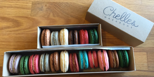 For those who have never tried one before, Chelle's is the perfect place for them to eat their first macaron.
