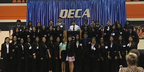 45 DECA members advance to state
