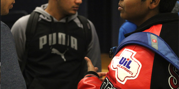 Academic Decathlon students and Academic UIL  students are among those that may qualify for a letterman jacket.