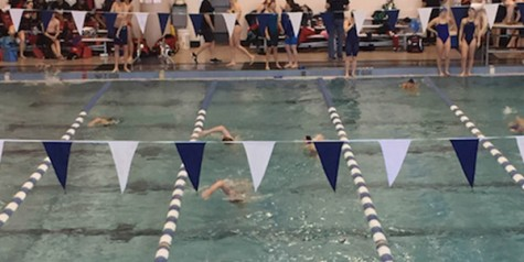 Swim team takes on traditional powers Tuesday