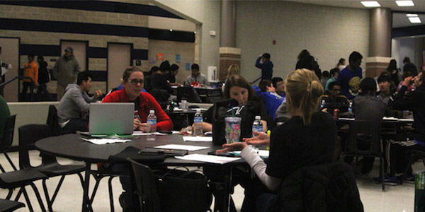 The UIL team is coached by teachers that correspond to the subject area. Coaches lead meetings for the teams and help students prepare for the competitions.
