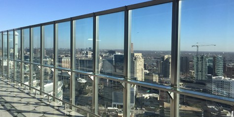 Prom location to provide city view