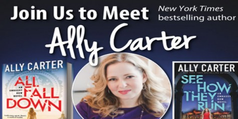 YA author Ally Carter on campus Wednesday
