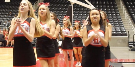 Cheer tryouts held for prospective members