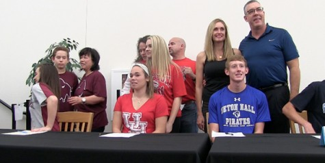4 students to sign LOI on Wednesday