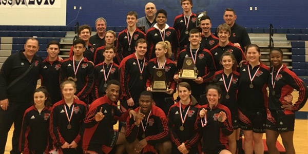 The wresting teams both competed this weekend, with the girls taking home a first place title.