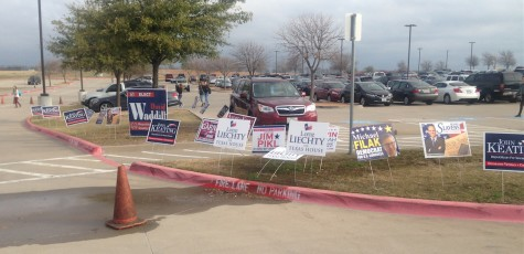 Super Tuesday voting on campus