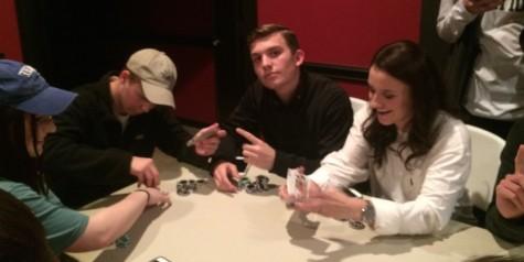 Poker rises to popularity among senior class